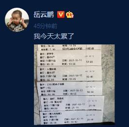 岳云鹏大年初二晒电影票 一天看六场直言太累了